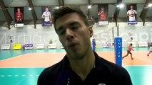 Gilles Gosselin après la défaite de Saint-Nazaire à Martigues Volley