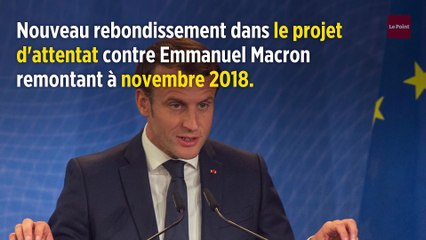Projet d'attentat contre Emmanuel Macron : 2 nouveaux suspects arrêtés