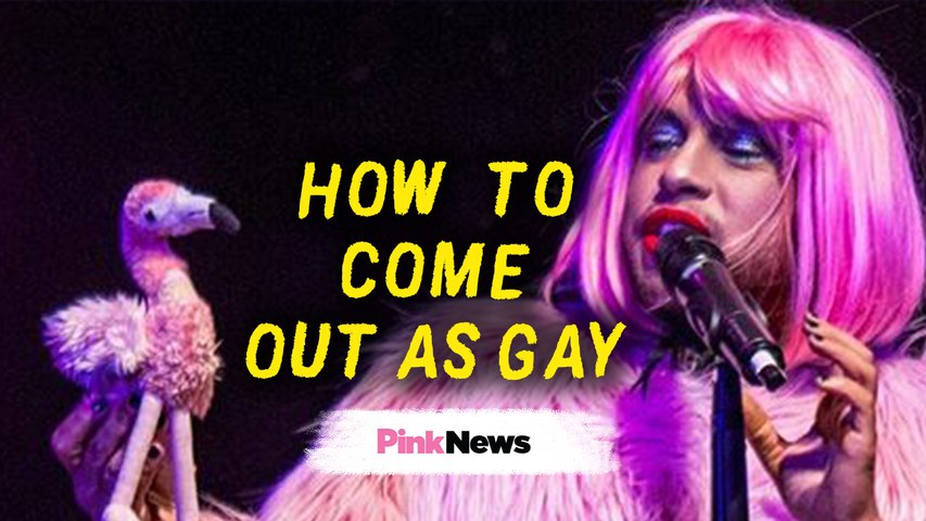 How to come out as gay: Dean Atta's spoken word poem