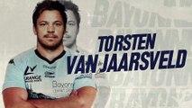 Torsten Van Jaarsveld prolonge !