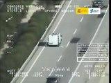 VÍDEO: Pegasus caza a 152 km/h a una furgoneta con límite de 90 km/h
