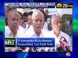 SC upholds disqualification of 17 Karnataka MLAs but allows them to contest polls