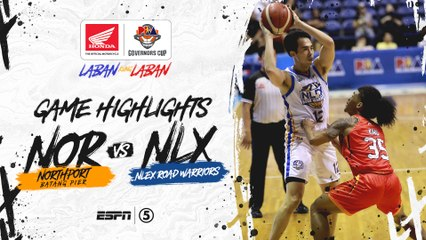 Highlights: NorthPort vs NLEX | PBA Governors' Cup 2019