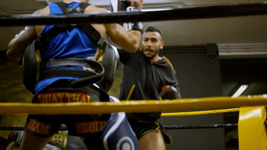 Nicola Canu Kickboxing Training