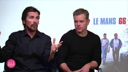Le Mans 66 - Interview cinéma de Christian Bale et Matt Damon