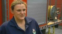 The pregnant firefighter tackling Australias ferocious bushfires