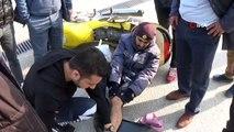 PTT çalışanı ölümden döndü..İlk müdahaleyi yoldan geçen sağlık çalışanı yaptı