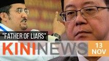 Asyraf slams DAP's push for equality, calls Lim 'father of liars' | Kini News - 13 Nov