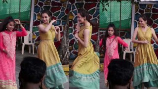 Dia Mirza DANCES with kids at social event ; Watch Video | FilmiBeat