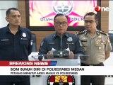 Korban Bom Bunuh Diri di Polrestabes Medan 6 Orang, 4 Polisi