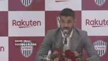 David Villa announces his retirement from professional football