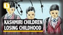 Kids Talk Night Raids, Detentions & Curfew: Kashmir's New Normal?