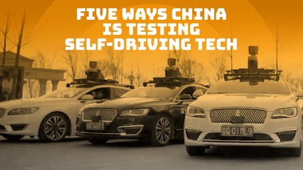 5 ways China is testing self-driving tech