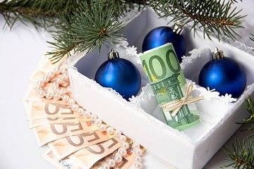 Das Weihnachtsgeld der Deutschen