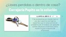 CERRAJERO URGENTE Sant Cugat del Valles 24 HORAS | CAMBIO DE CERRADURAS | CERRAJERIA Sant Cugat del Valles