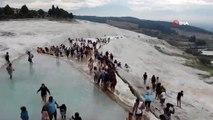 Ekim ayında Pamukalle'yi 285 Bin Kişi Ziyaret Etti