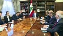 Lübnan Cumhurbaşkanı Avn, Fransız heyeti kabul etti - BEYRUT