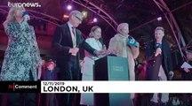 Λονδίνο: Διάσημοι ηθοποιοί ανάβουν τα χριστουγεννιάτικα φώτα