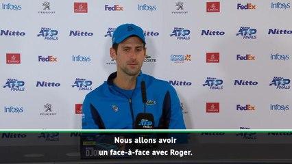"""Masters - Djokovic sur Federer : """"La finale de Wimbledon n'a plus d'importance"""""""