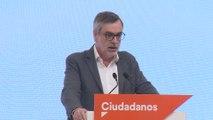 Villegas rechaza Gobierno PSOE-Podemos e insta a Sánchez a pactar con PP y Cs