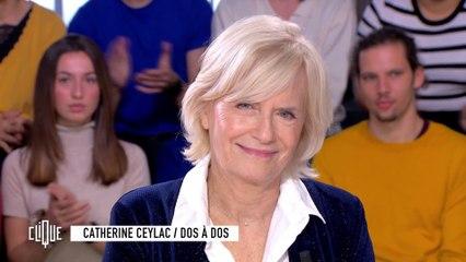 Catherine Ceylac : Dos à dos - Clique - CANAL+