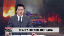 Deadly fire continues raging in Australia