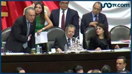 Ana Paula Cinta | Muñoz Ledo se va como los grandes del Congreso