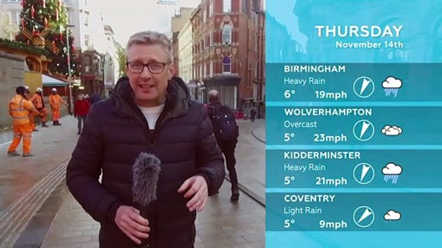 WEATHER: November 14th 2019