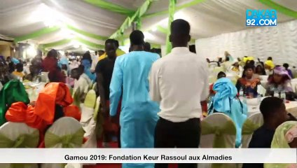 Gamou 2019 prestation de mohamed niang