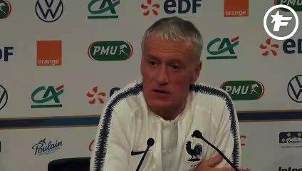 Didier Deschamps est satisfait d'avoir Corentin Tolisso