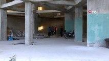 Asma kattan düşen inşaat işçisi hayatını kaybetti