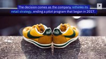 Nike Halts Sales on Amazon