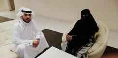 لأول مرة إعلامية سعودية بالنقاب على قناة مصرية