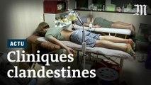 A Hongkong, des cliniques secrètes soignent les manifestants