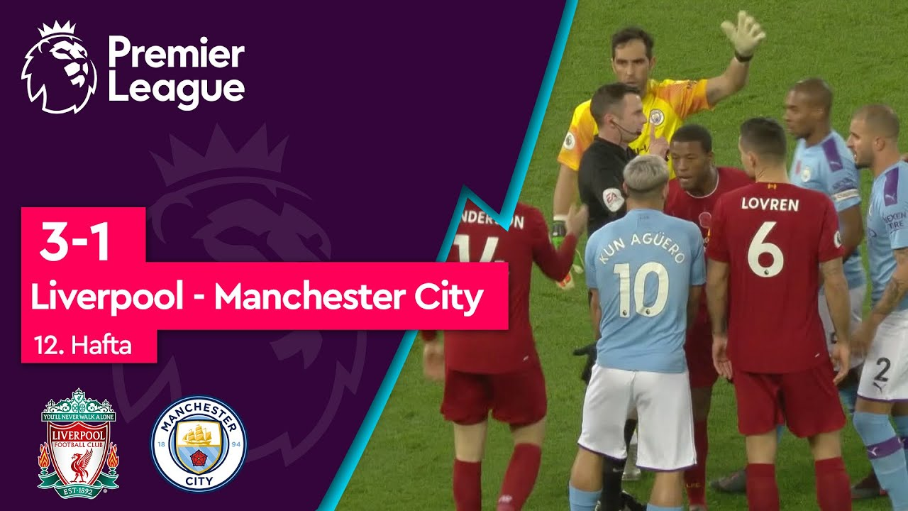 Liverpool - Manchester City (3-1) - Maç Özeti - Premier League 2019/20