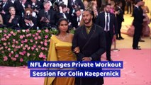 NFL Arranges Private Workout Session for Colin Kaepernick