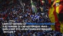 L'OM premier club français à atteindre les 4 000 buts dans l'élite