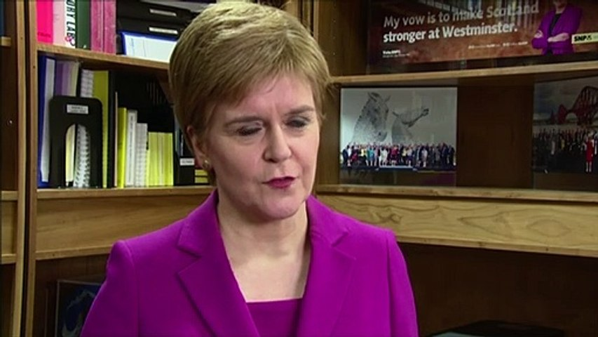 Sturgeon: I won't help Labour into No. 10 without indyref2