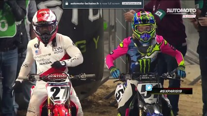 Day 2 of the 2019 Paris Supercross SX1 Main Event (HD)