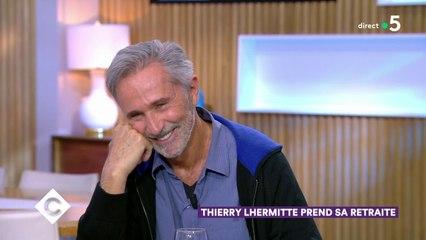 Thierry Lhermitte prend sa retraite - C à Vous - 13/11/2019