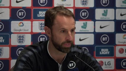 Fair to say Sterling isn't 'hugely enthusiastic' about Southgate
