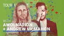 Tour Update: AWOLNATION and Andrew McMahon in the Wilderness Embarks on The Lightning Riders Tour