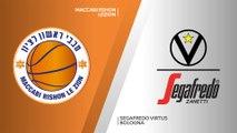 Maccabi Rishon Lezion - Segafredo Virtus Bologna Highlights | 7DAYS EuroCup, RS Round 7