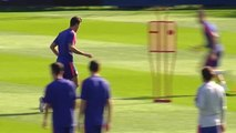 El Atlético sigue preparando el partido de Liga ante el Eibar ya con el concurso de Gelson y Rodrigo
