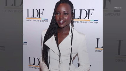 Lupita Nyong'o Now Has Waist-Length Braids