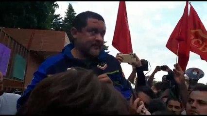 Freddy  Meregote, representante do governo de Nicolás Maduro em Brasília