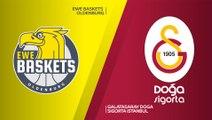 EWE Baskets Oldenburg - Galatasaray Doga Sigorta Istanbul Highlights | 7DAYS EuroCup, RS Round 7