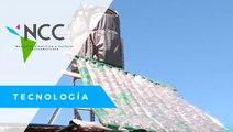 Utilizan basura para llevar agua caliente en barrios pobres argentinos
