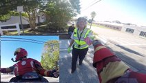 Motor Corey Gives Back To Crossing Guards With Surprise Gift Cards
