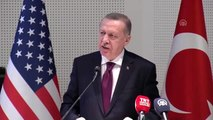 """Erdoğan: """"İstiklalimiz ve istikbalimiz söz konusu olunca diğer her şey ikinci planda kalır"""""""